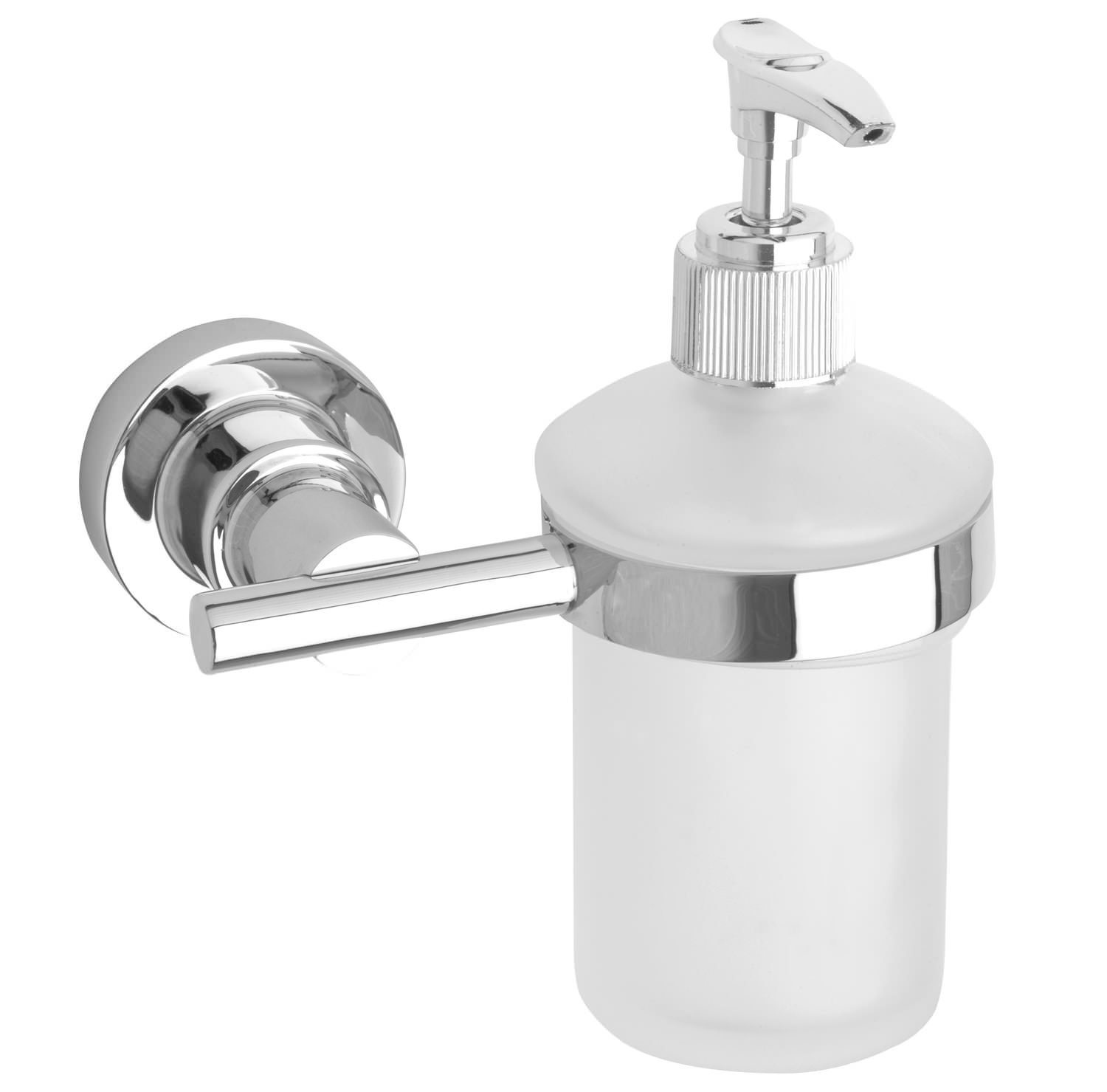 Never drill again bathroom accessories - Red Dot Luup Soap Dispenser Lu412