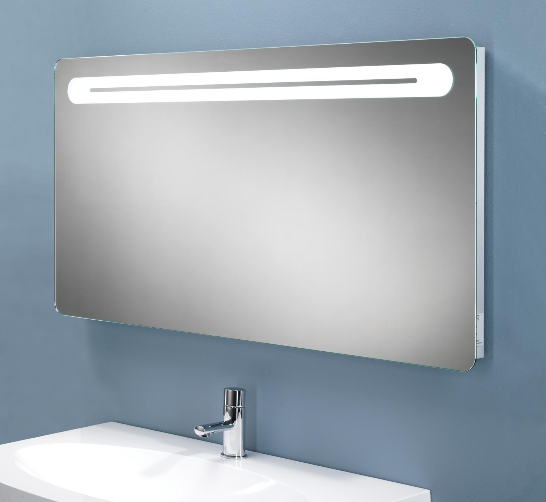 Hib Vortex Led Back Lit Mirror With Shaver Socket 77419000