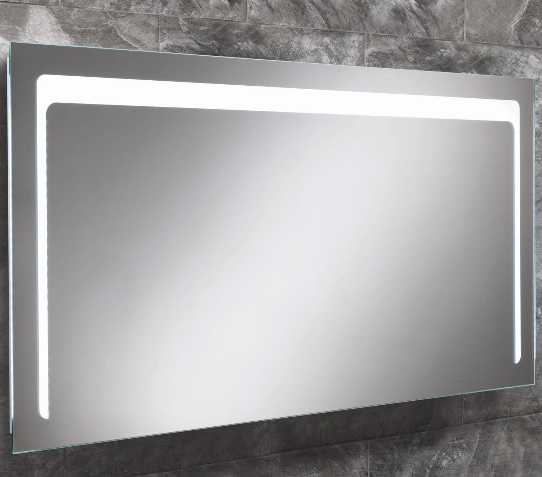 Hib Christa Steam Free Led Back Lit Mirror 1200x600mm 77413000
