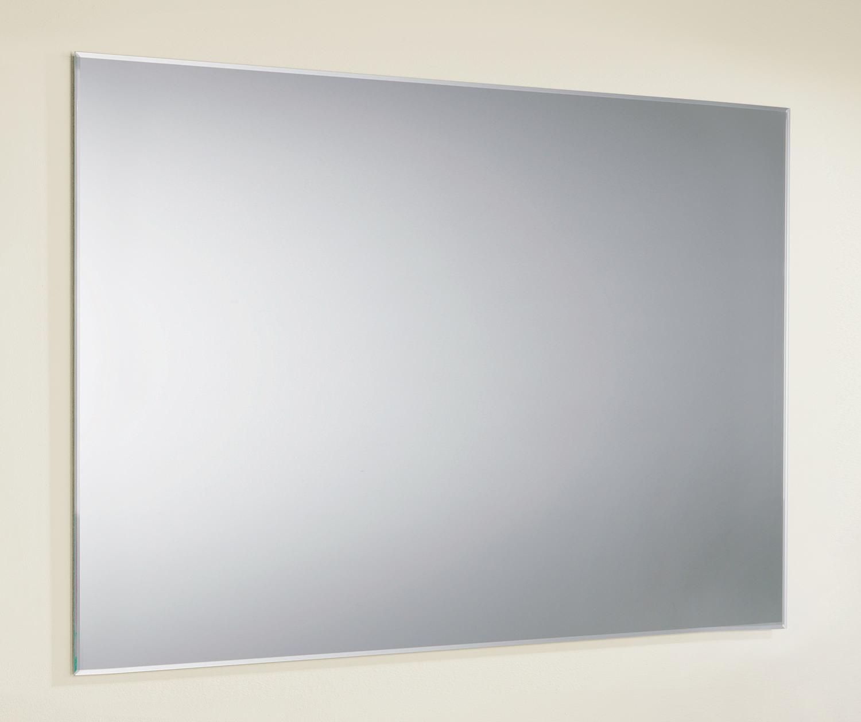 Bevelled Bathroom Mirror Hib Jackson Rectangular Bevelled Edge Mirror 800x600mm 76800000