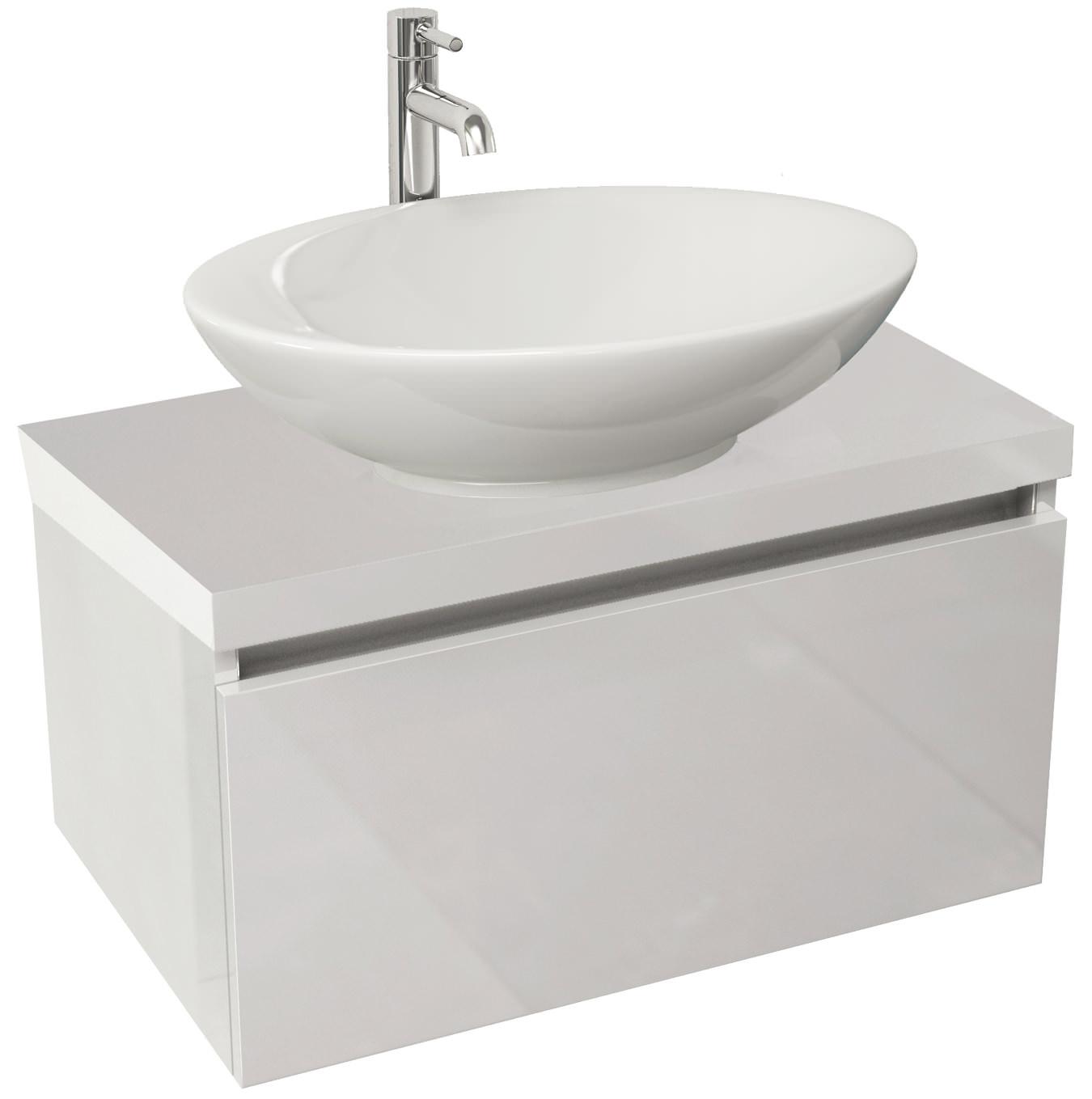 Wall Hung Bathroom Vanity Units / Starts from £42 / QS Supplies UK