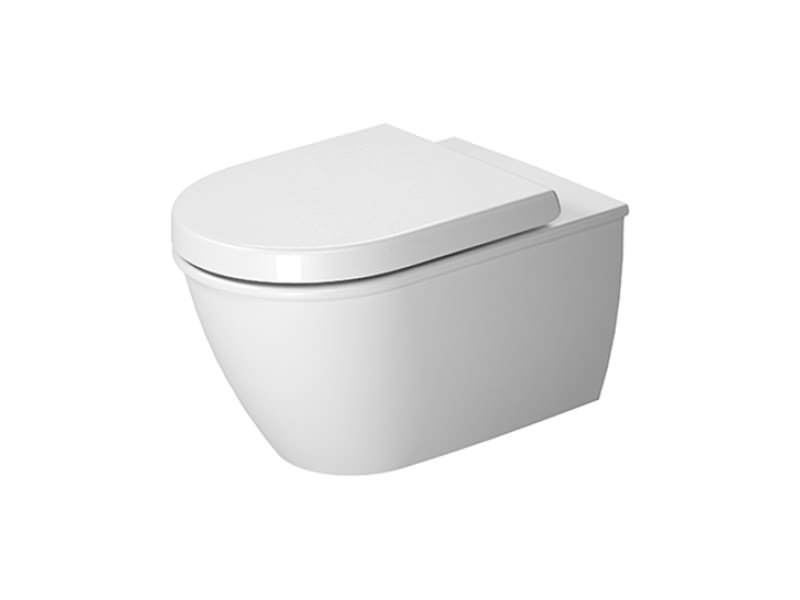 duravit darling new wall mounted rimless toilet 540mm
