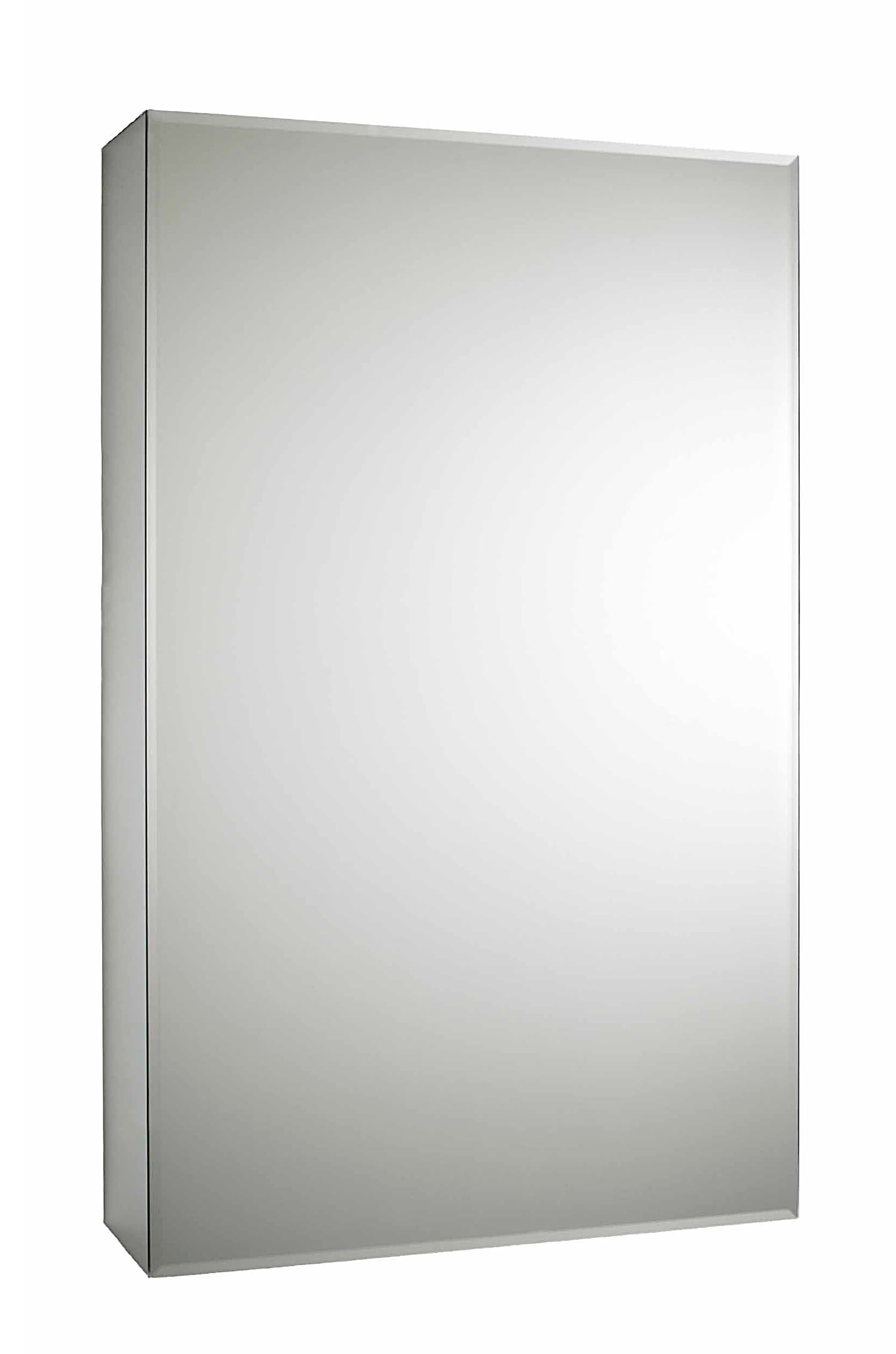 Lauren intrigue side opening mirrored cabinet 460 x 750mm for Bathroom cabinets 400mm
