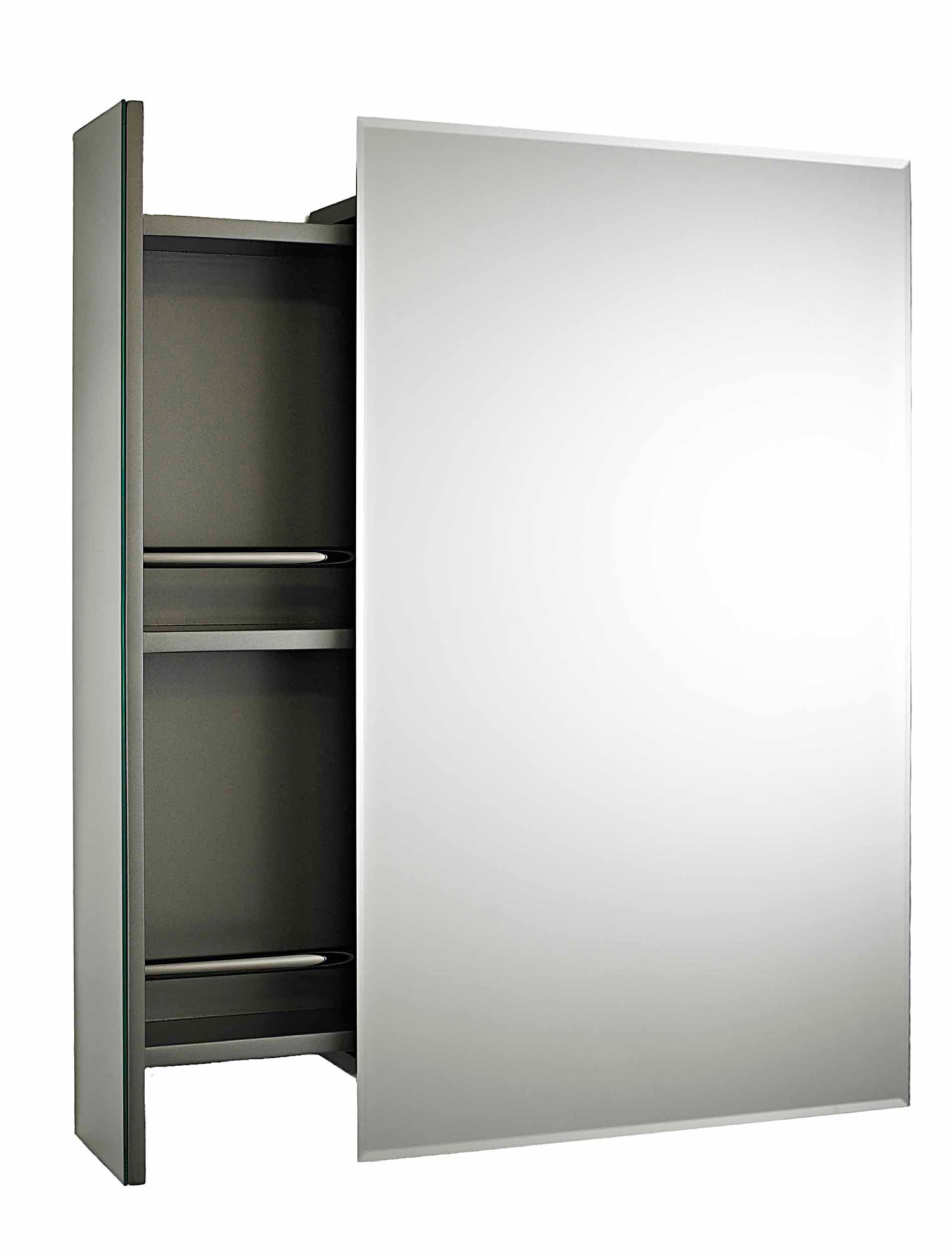 Lauren Intrigue Side Opening Mirrored Cabinet 460 X 750mm Lq039