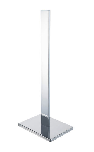Aqualux Haceka Edge Spare Toilet Roll Holder Chrome 1143818