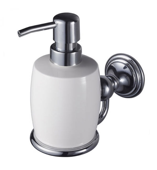 Aqualux Haceka Allure Soap Dispenser Chrome 1126182