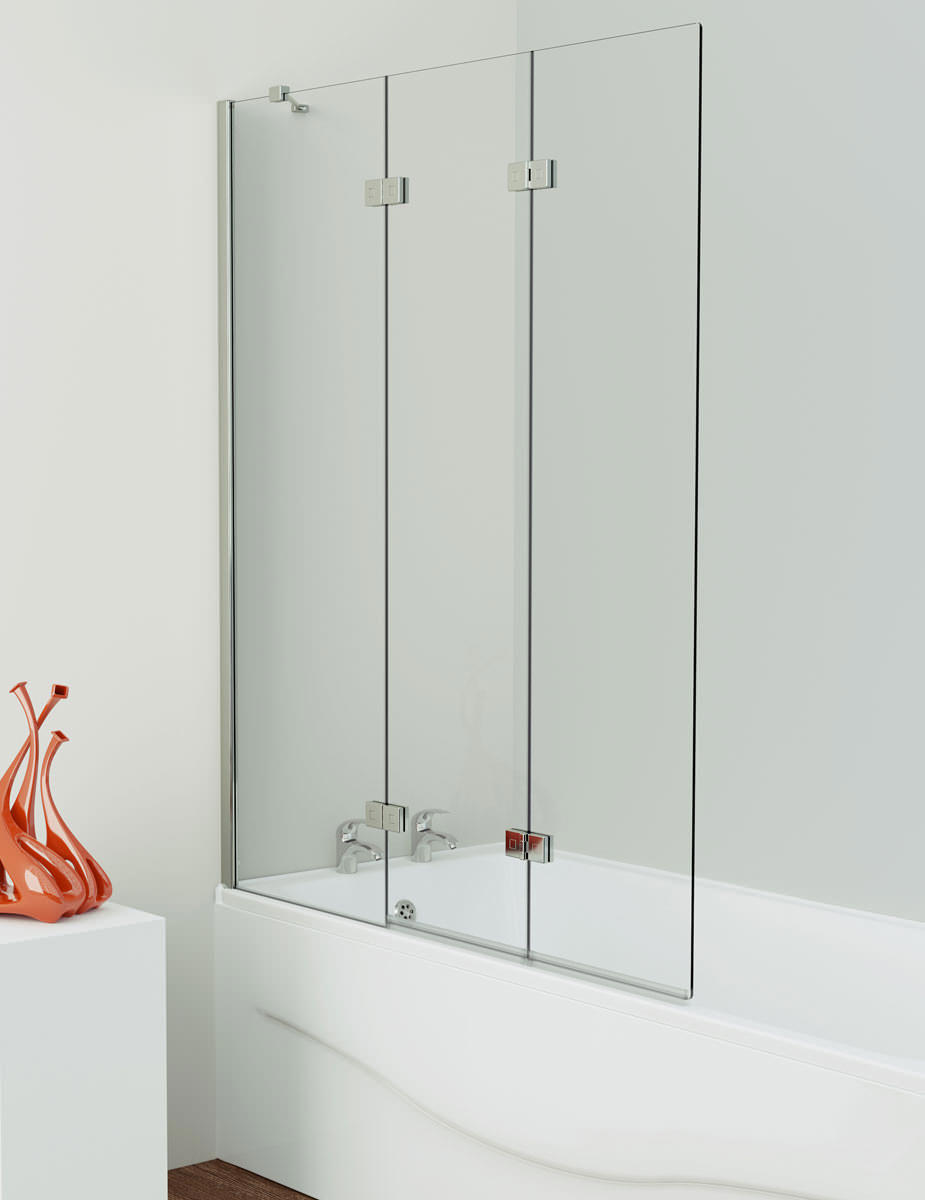 Kudos inspirational 3 panel bath screen left and right handed for 3 panel tub shower doors