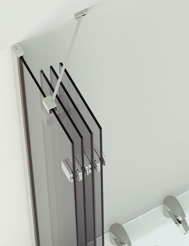 Beautiful ... Additional Image Of Kudos Inspirational 4 Panel Compact Bath Screen