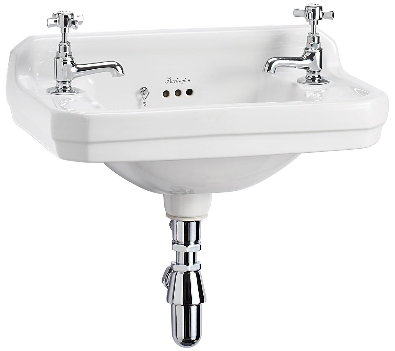 supplies bathrooms basins wall hung burlington edwardian wall mounted ...