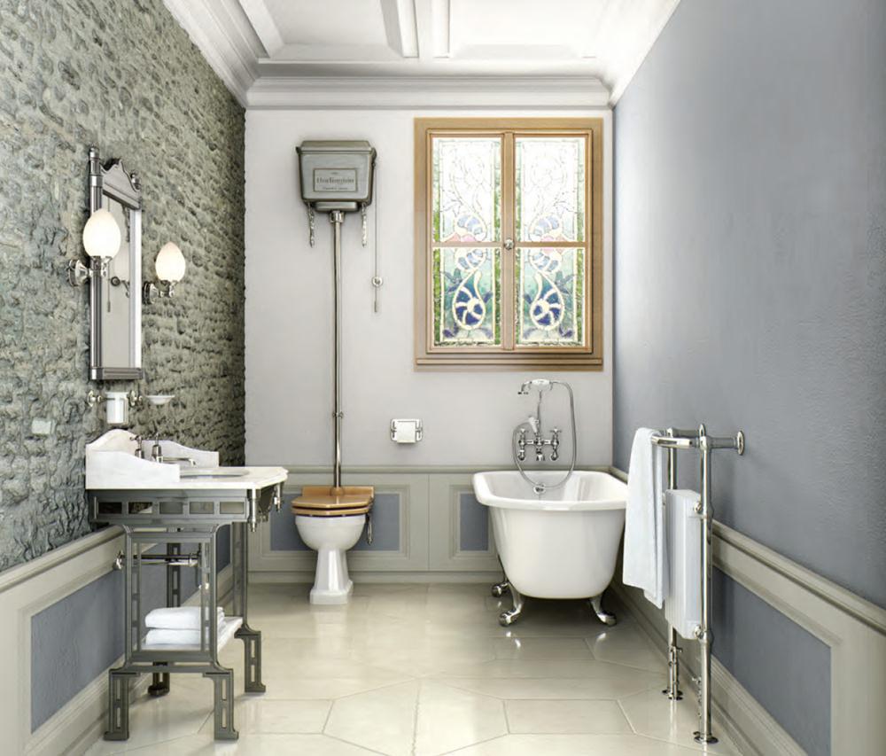 Burlington georgian bathroom suite - Englische badezimmer ...