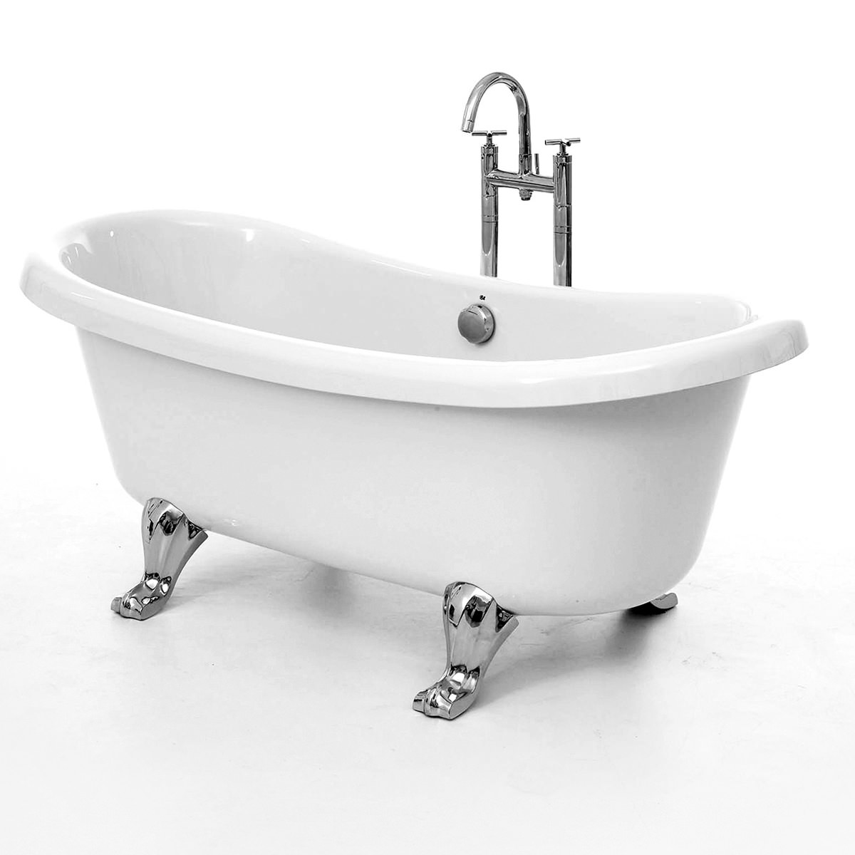 freestanding bath feet cratem com royce morgan notre double ended freestanding bath 1650mm with feet