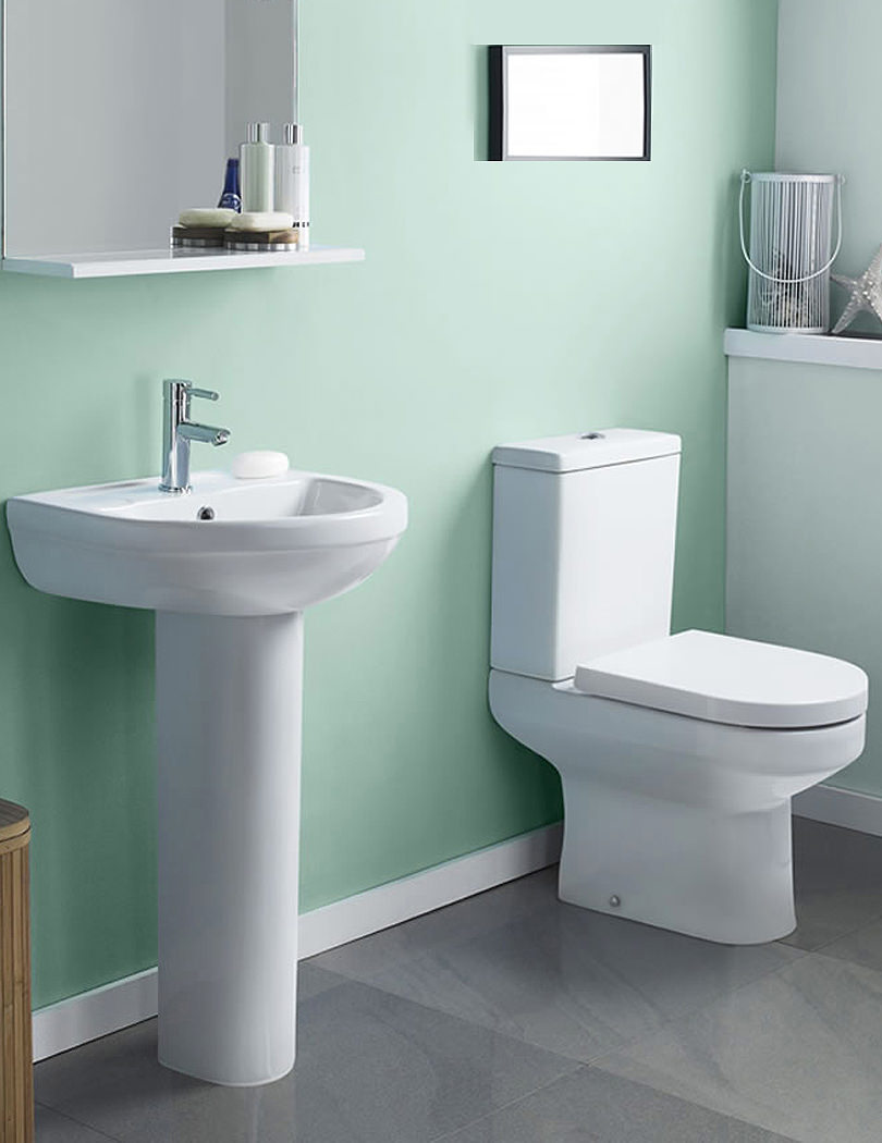 Premier Harmony Basin And Toilet Set| NCH600B