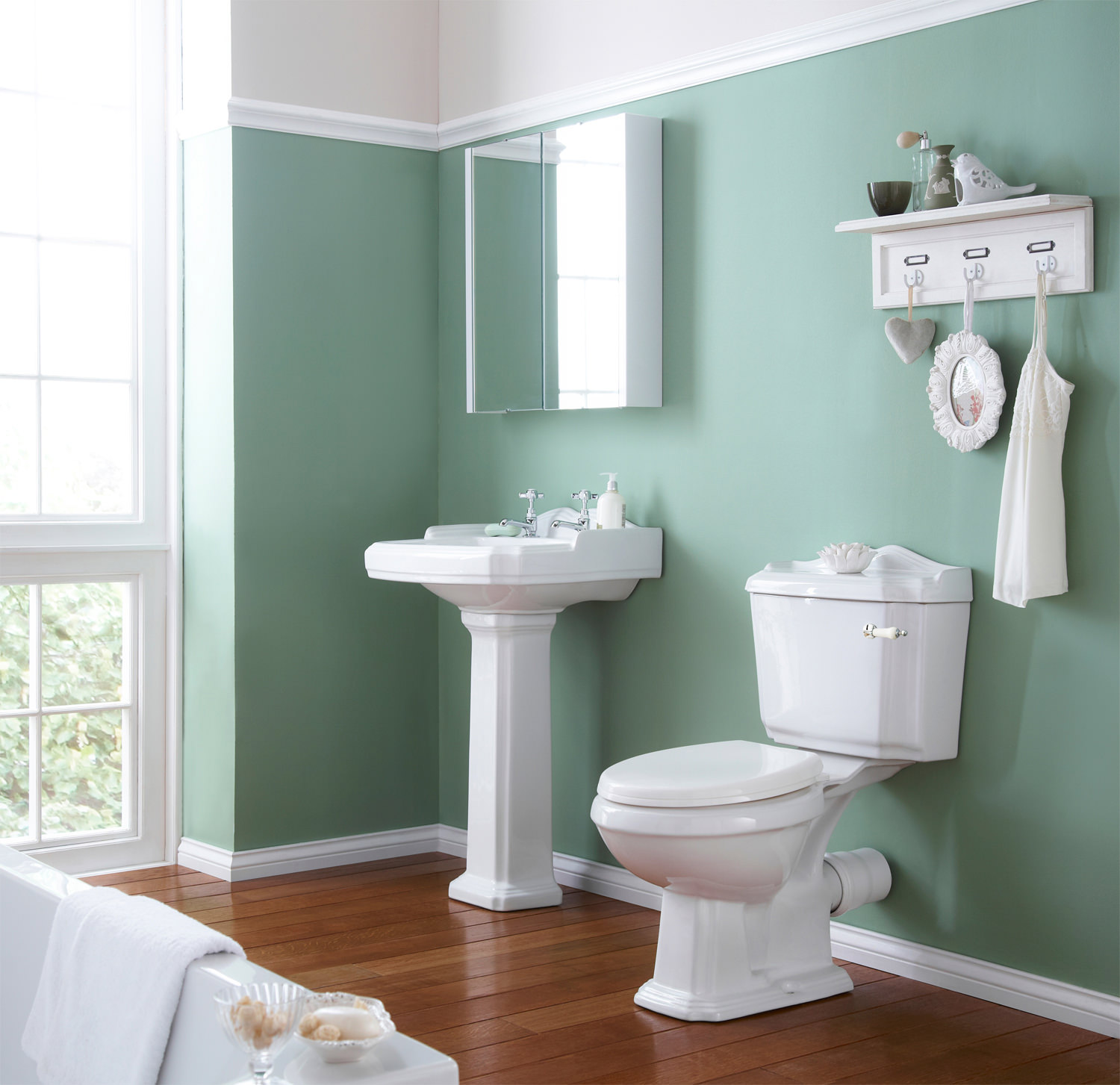 Premier Legend Basin And Toilet Set | NCS400