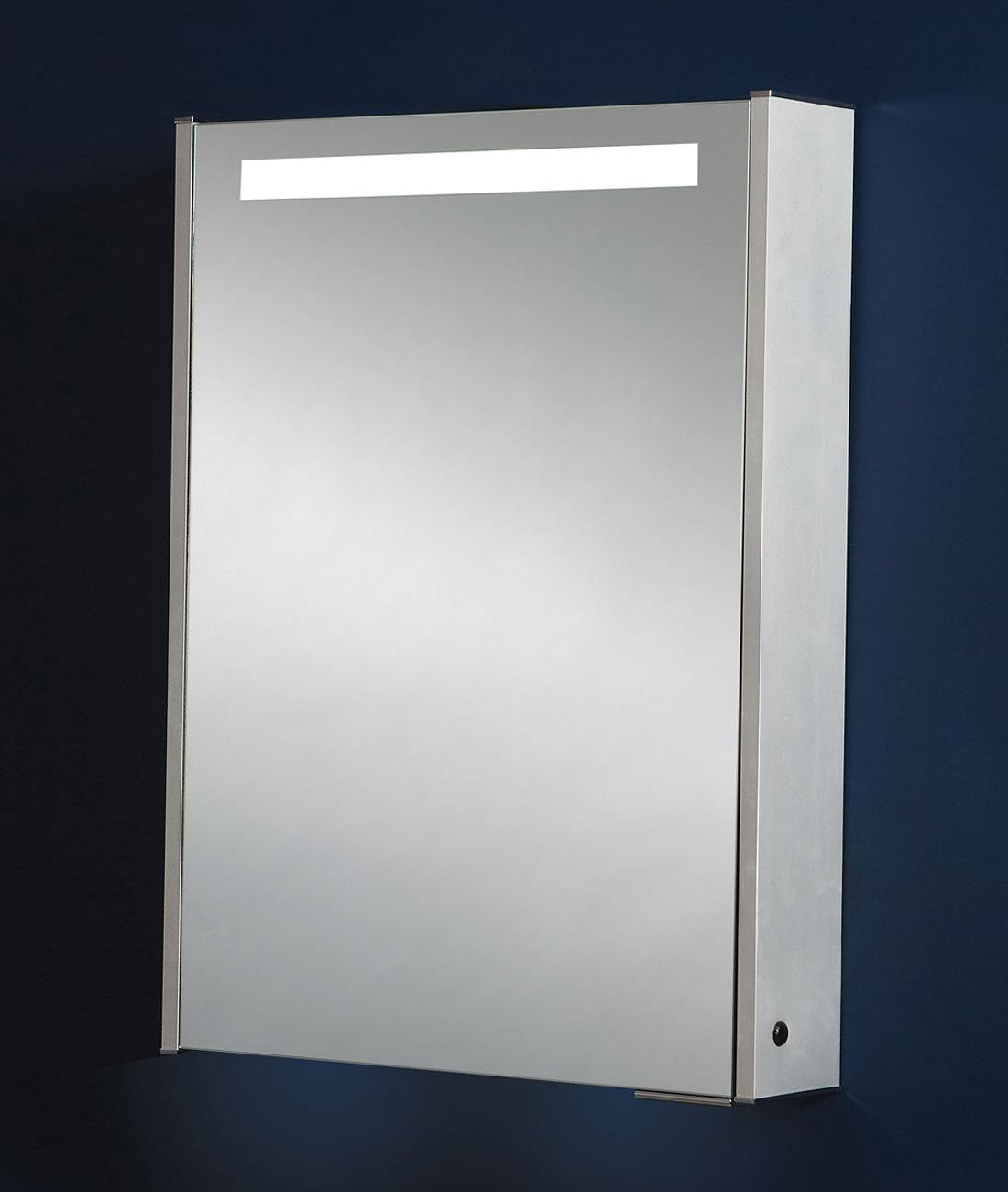 Phoenix Double Door Aluminium Mirror Cabinet 630 X 700mm Mi032