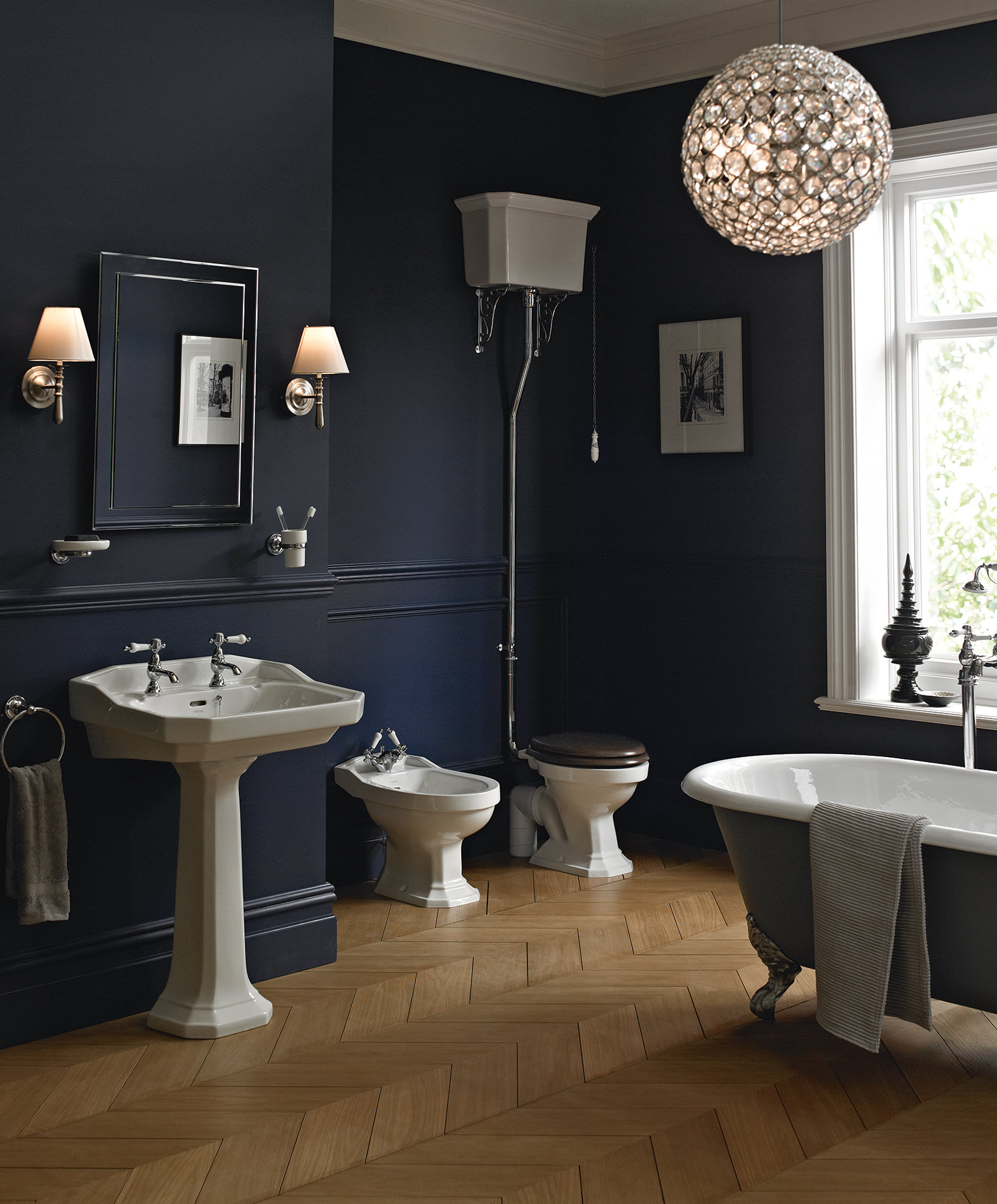 Heritage Granley Traditional Bathroom Suite 2