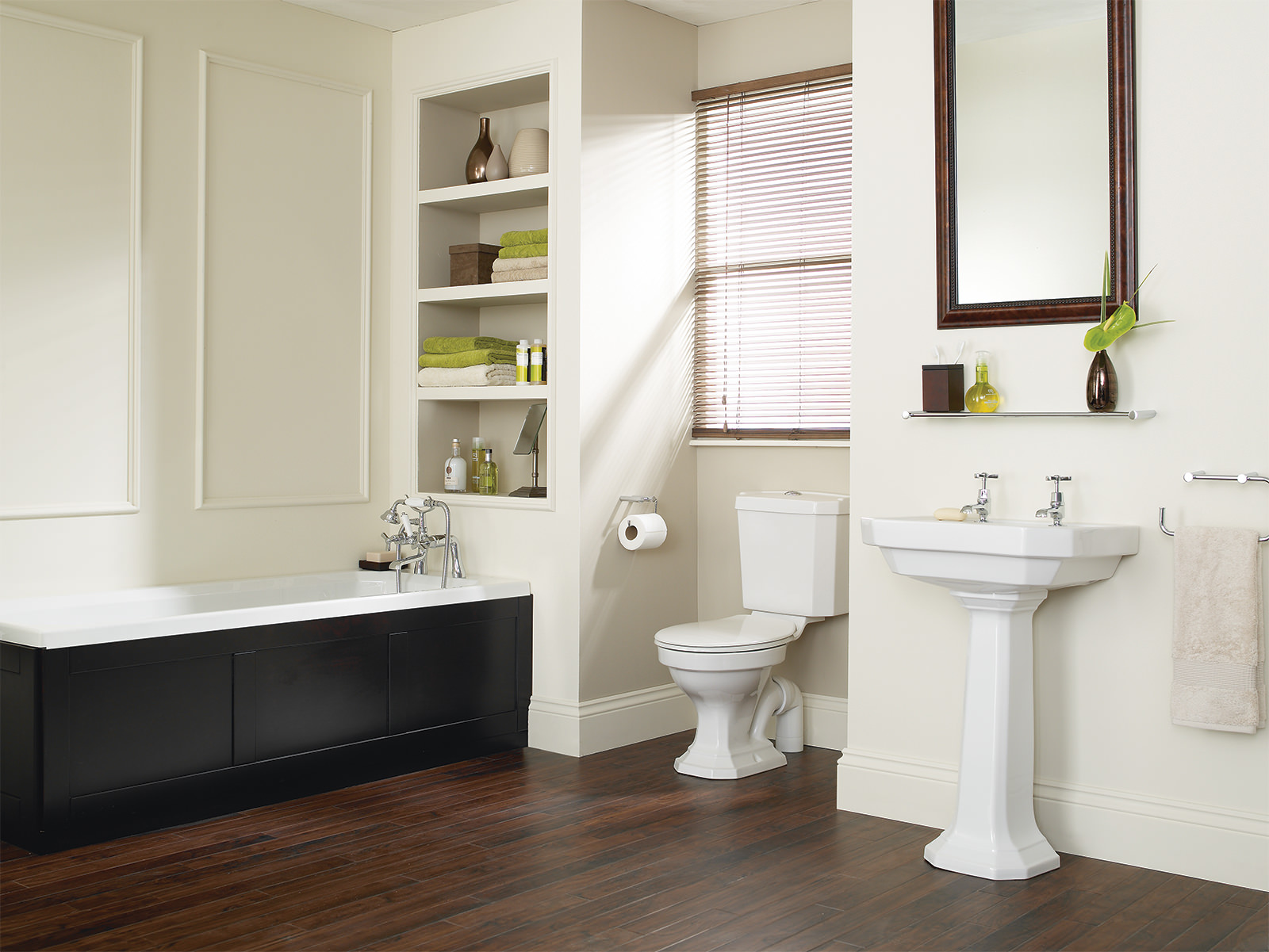 Heritage granley deco traditional bathroom suite for Bathroom suites