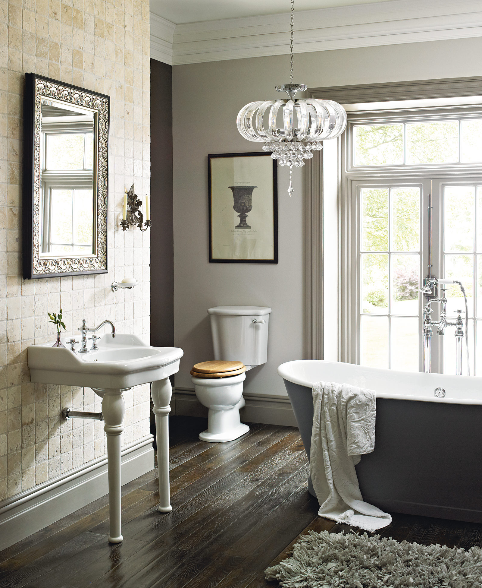 Bathroom Ideas: Heritage Victoria Traditional Bathroom Suite