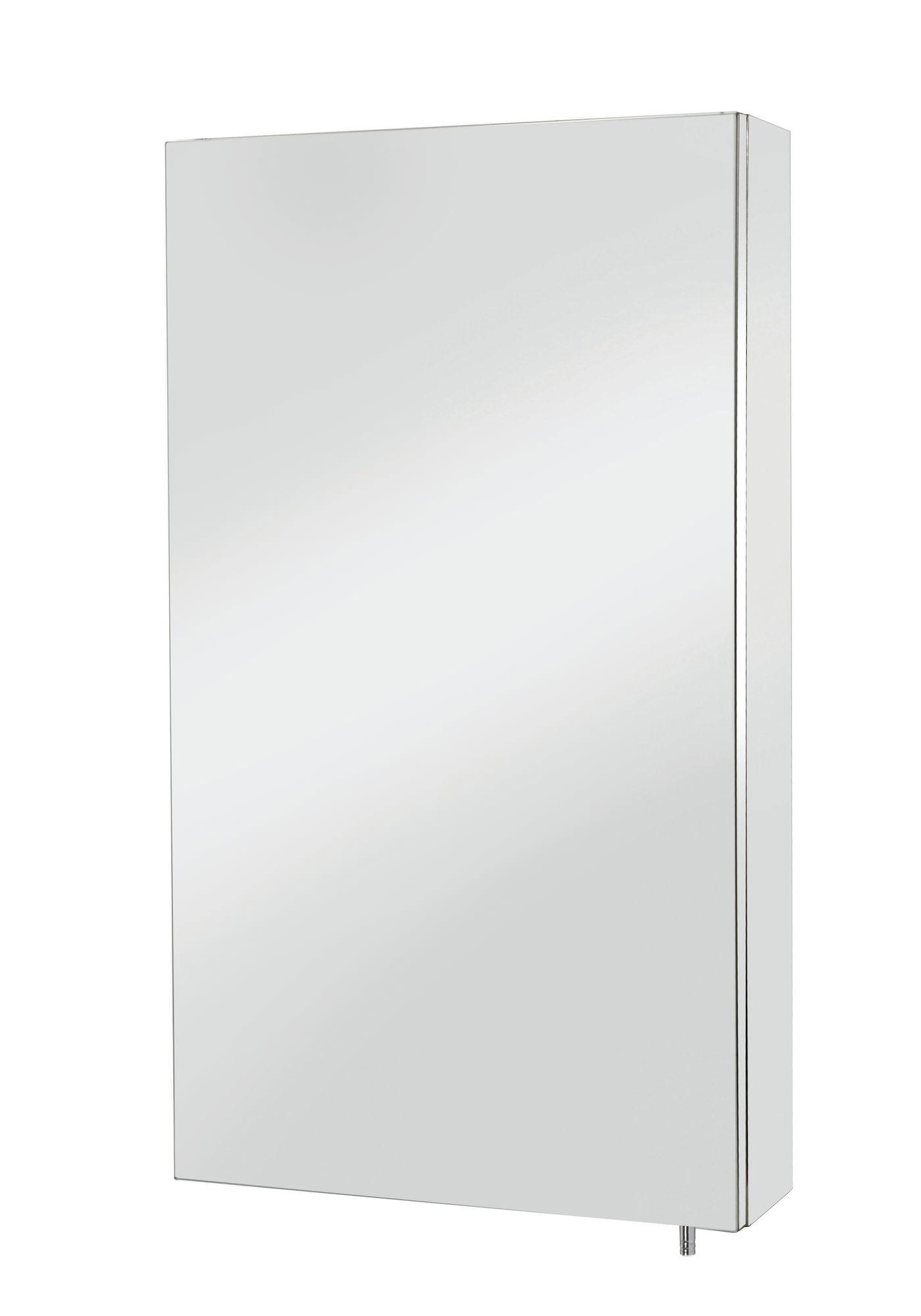 Croydex colorado stainless steel single door large mirror for Large door mirror
