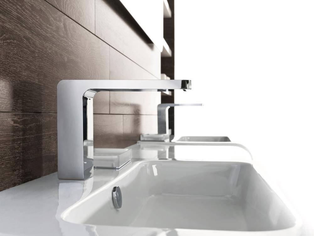 Porcelanosa Noken Lounge Single Lever Chrome Basin Mixer Tap