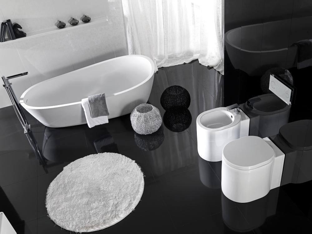 additional image of porcelanosa noken lounge single lever chrome bidet mixer tap - Noken Porcelanosa
