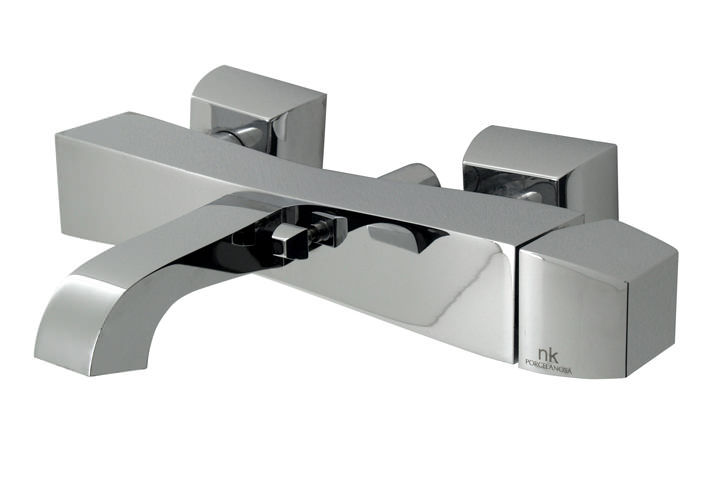 Porcelanosa Noken Dune Exposed Wall Mounted Bath Shower