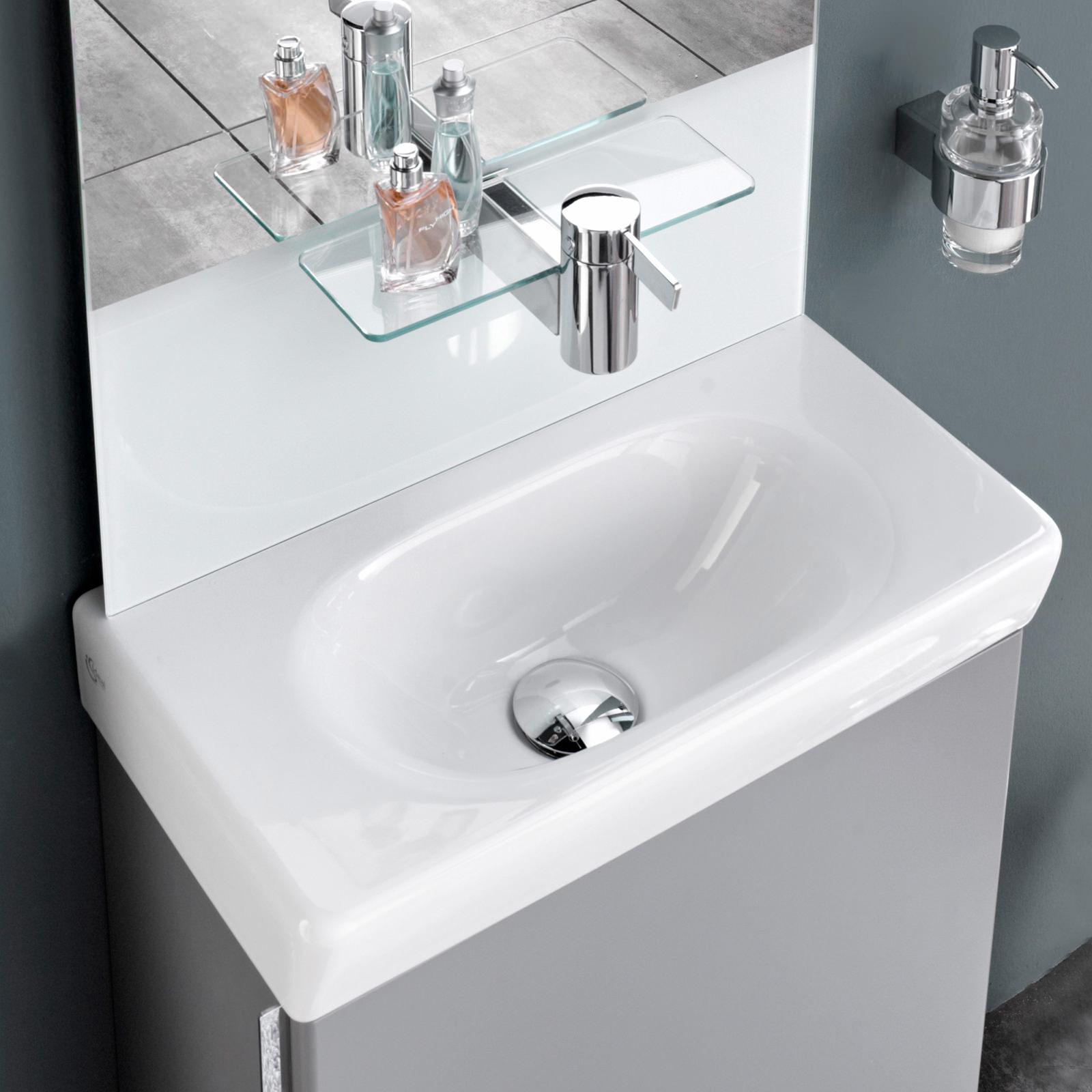 ideal standard tonic guest 500mm central washbasin k070501. Black Bedroom Furniture Sets. Home Design Ideas
