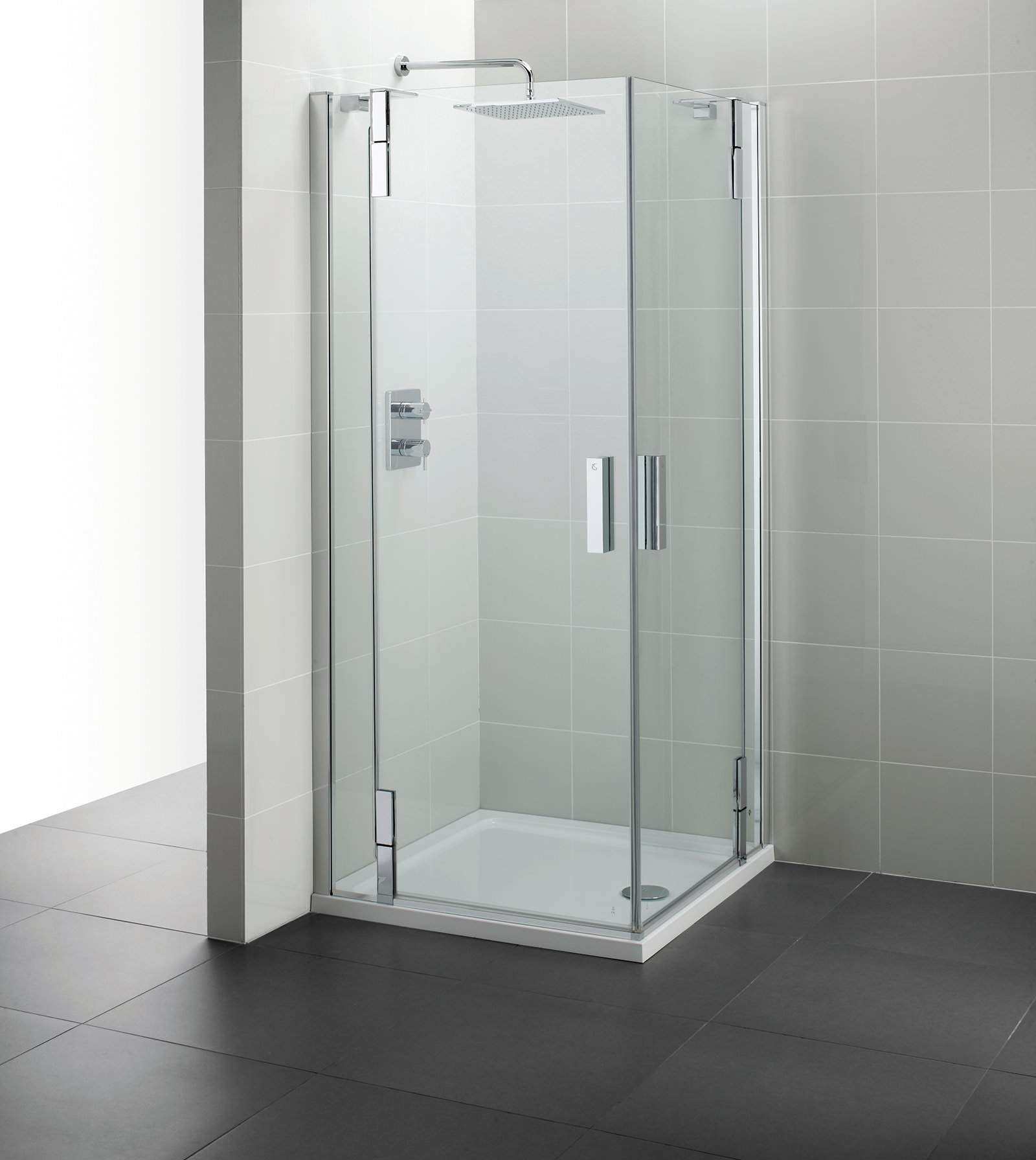 large corner shower units. Ideal Standard Tonic Flat Top 900mm Hinged Corner Entry  Twyford