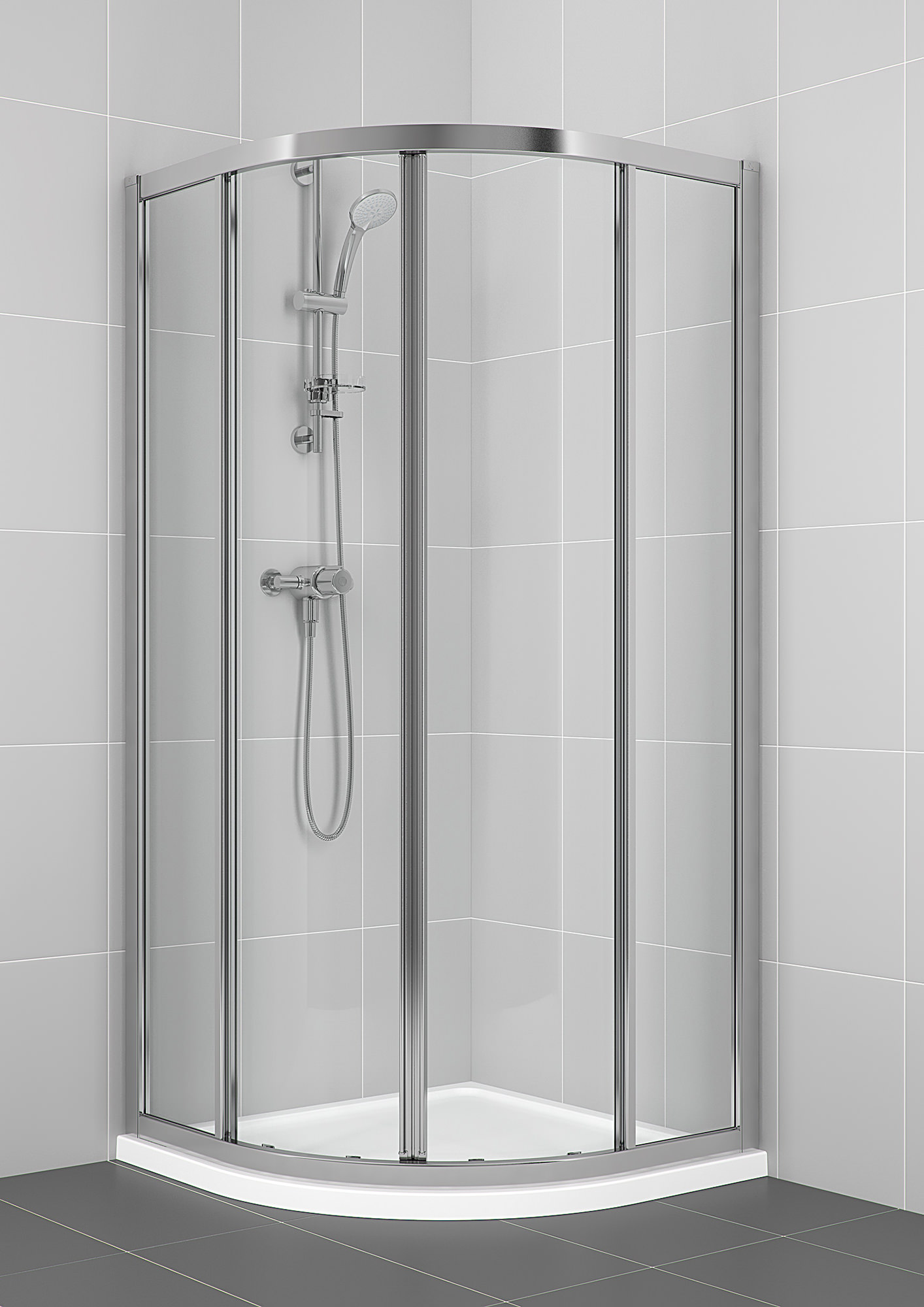 Ideal Standard Connect 800 X 800mm Quadrant Shower Enclosure