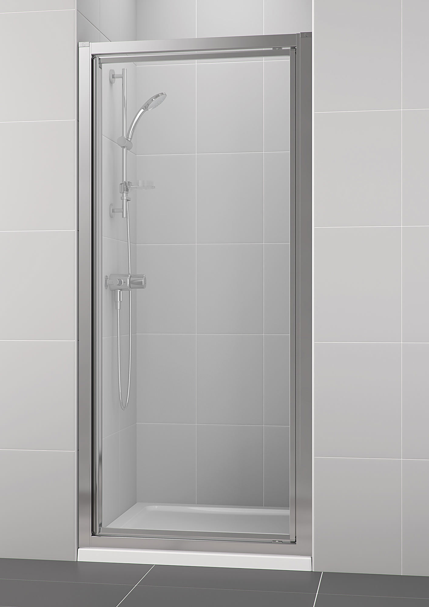 Ideal Standard New Connect 800mm Pivot Shower Enclosure