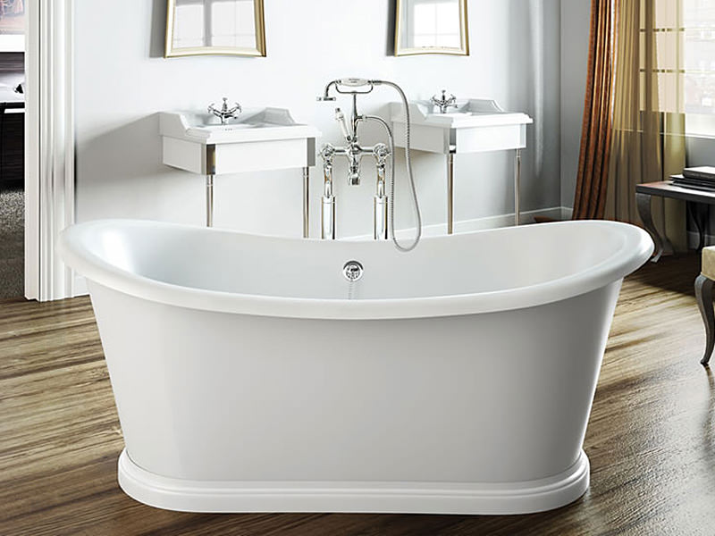 clearwater boat traditional freestanding bath 1650mm t5c On traditional freestanding bath