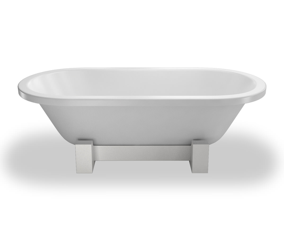 Clearwater Orient Modern Bath 1690 X 750mm With Wood Frame