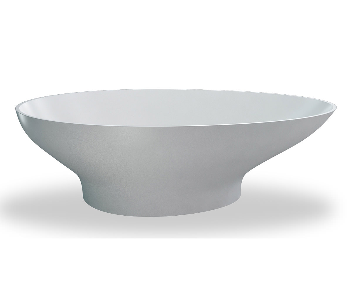 Clearwater Teardrop Freestanding Large Modern Oval Bath