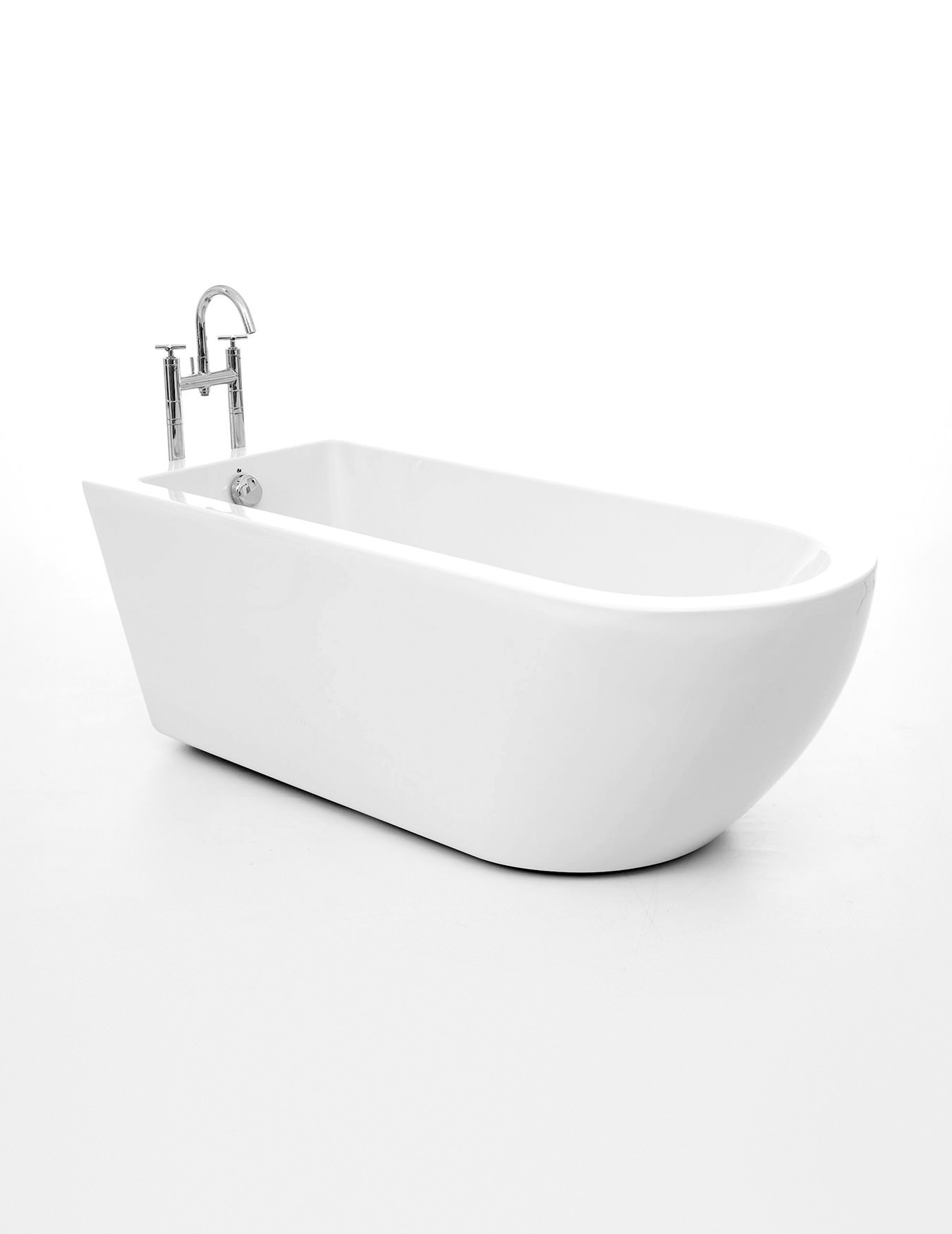 Royce morgan barwick single ended freestanding bath 1690 x for Bathroom bath