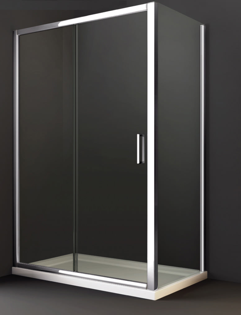 Merlyn 8 series sliding shower door 1000 x 1950mm m88231 for 1000 bifold shower door
