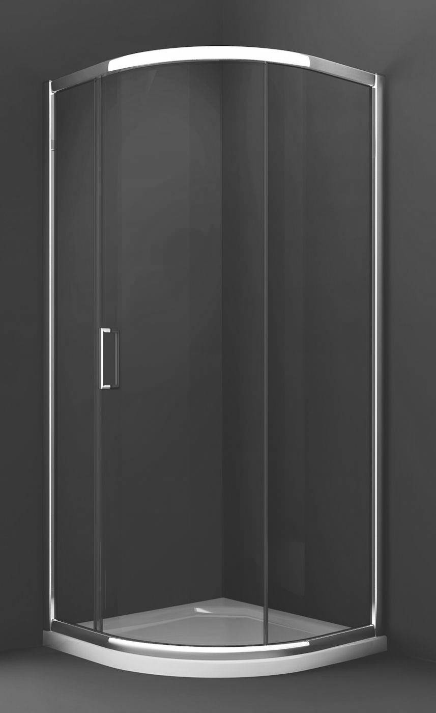 Merlyn 8 series 900 x 900mm 1 door quadrant shower enclosure for Door quadrant