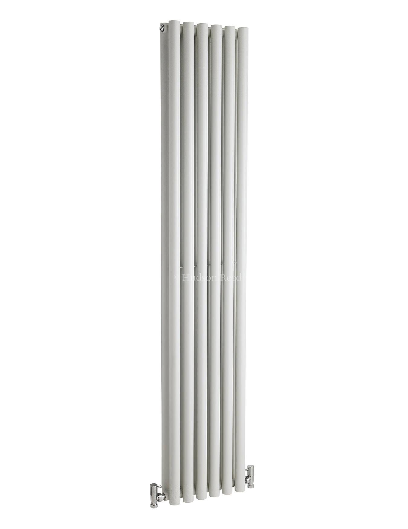 hudson reed savy double panel white radiator 354x1800mm. Black Bedroom Furniture Sets. Home Design Ideas