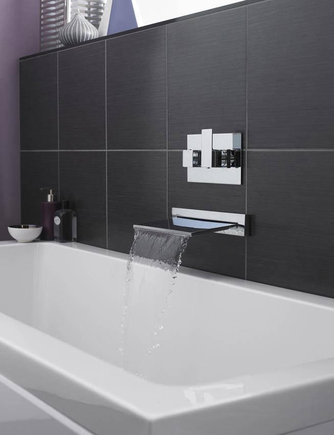 Hudson Reed Bath Shower Water Fall Filler Tap PN300