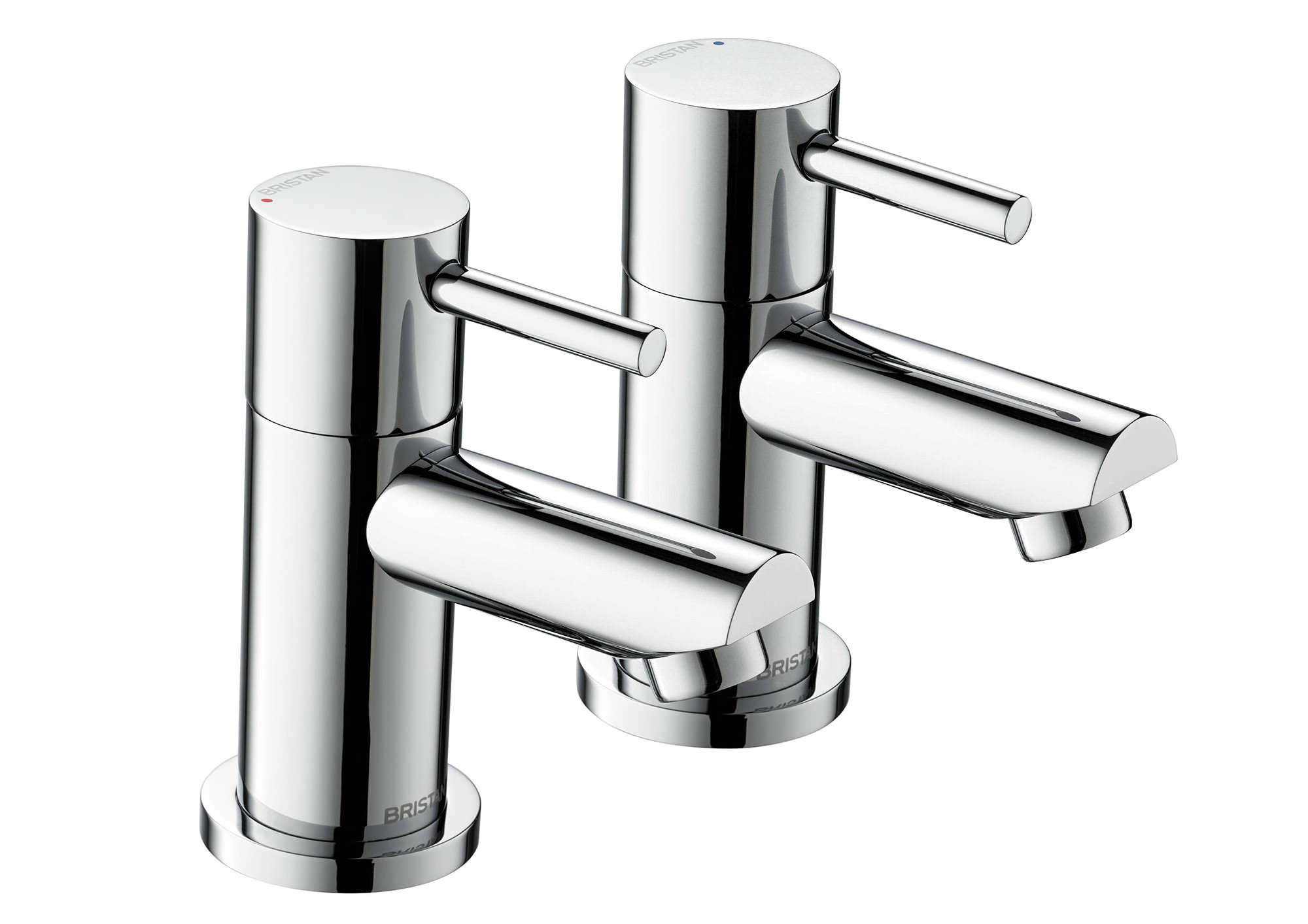 Chrome Bristan Kitchen Taps: Bristan Blitz Chrome Plated Bath Taps