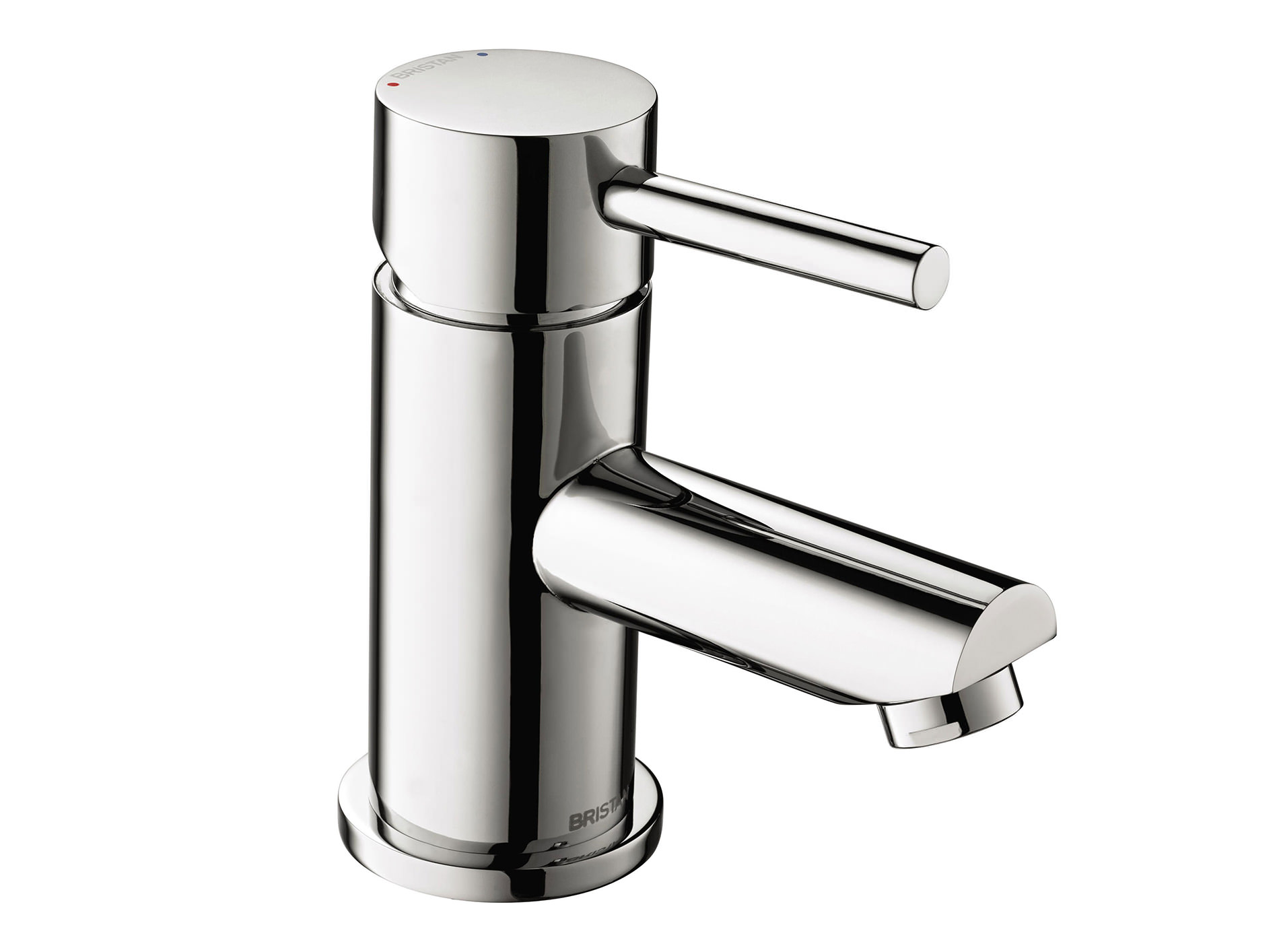 Bristan Blitz Basin Mixer Tap With Clicker Waste - BTZ BAS C