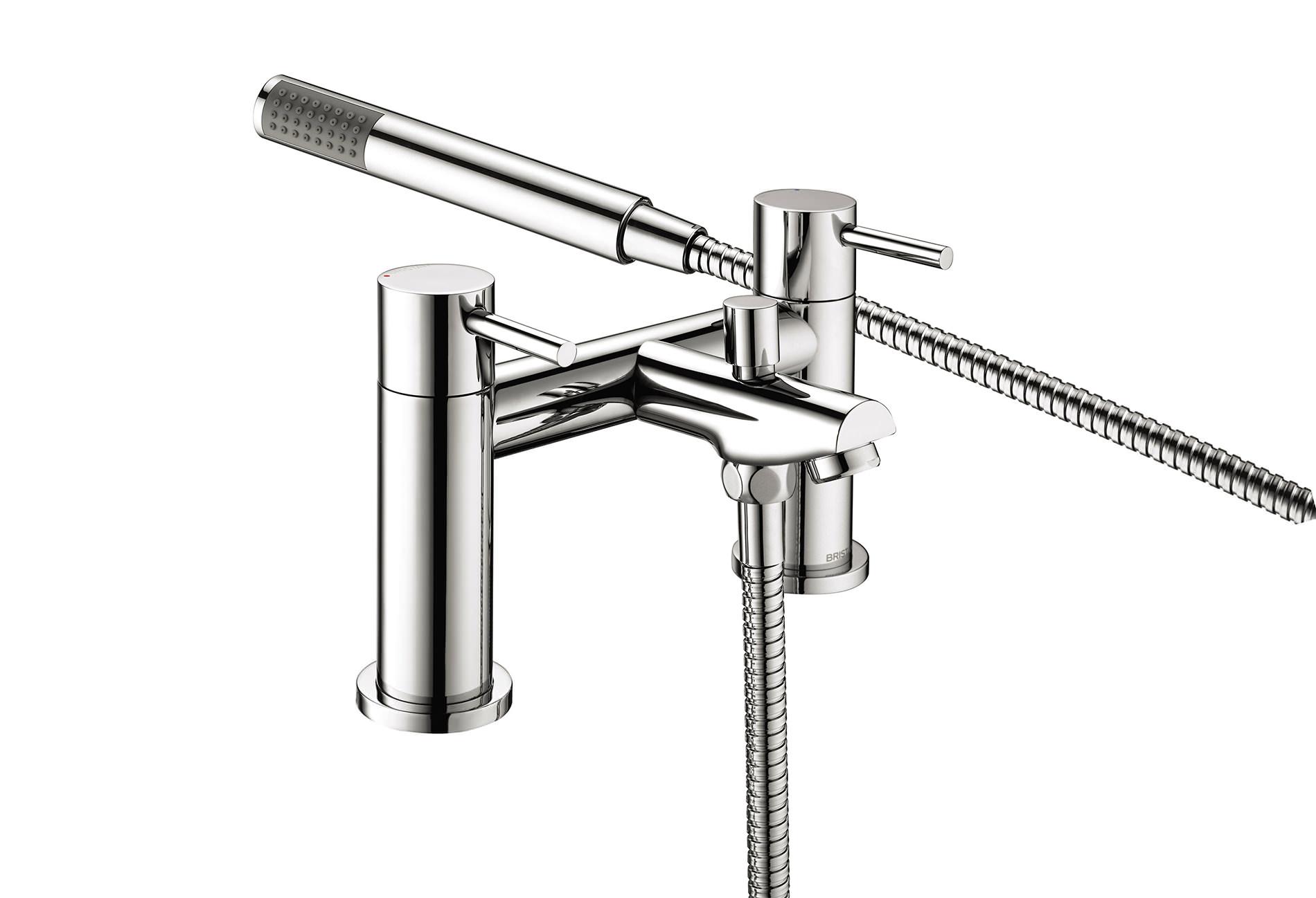 Chrome Bristan Kitchen Taps: Bristan Blitz Bath Shower Mixer Tap Chrome