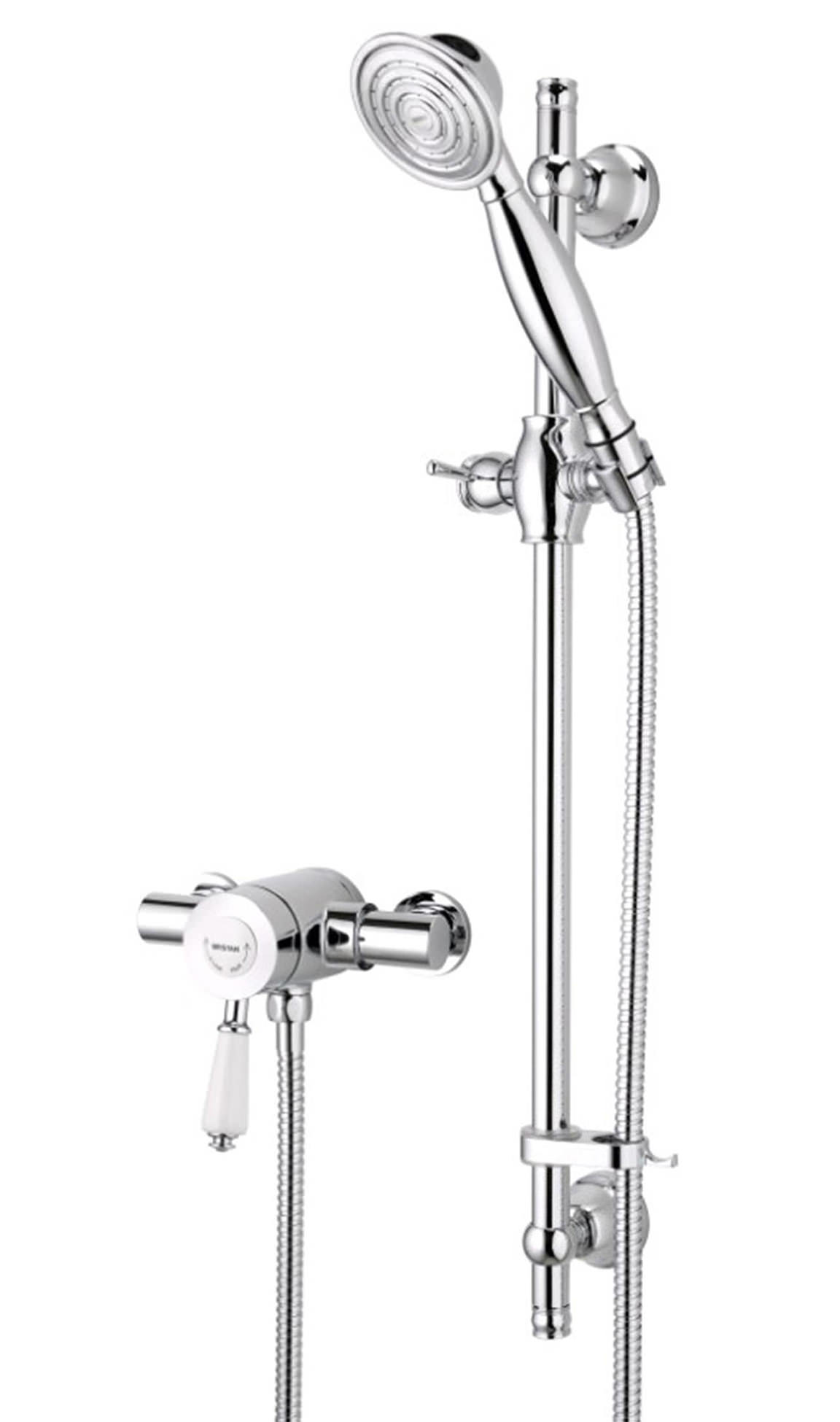Bristan Colonial Thermostatic Shower Valve With Riser Kit