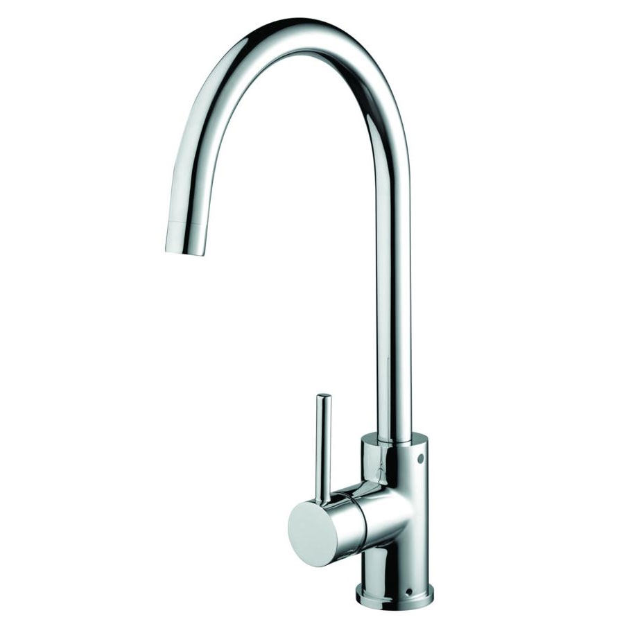 Bristan pistachio easyfit kitchen sink mixer tap chrome for The brook kitchen and tap