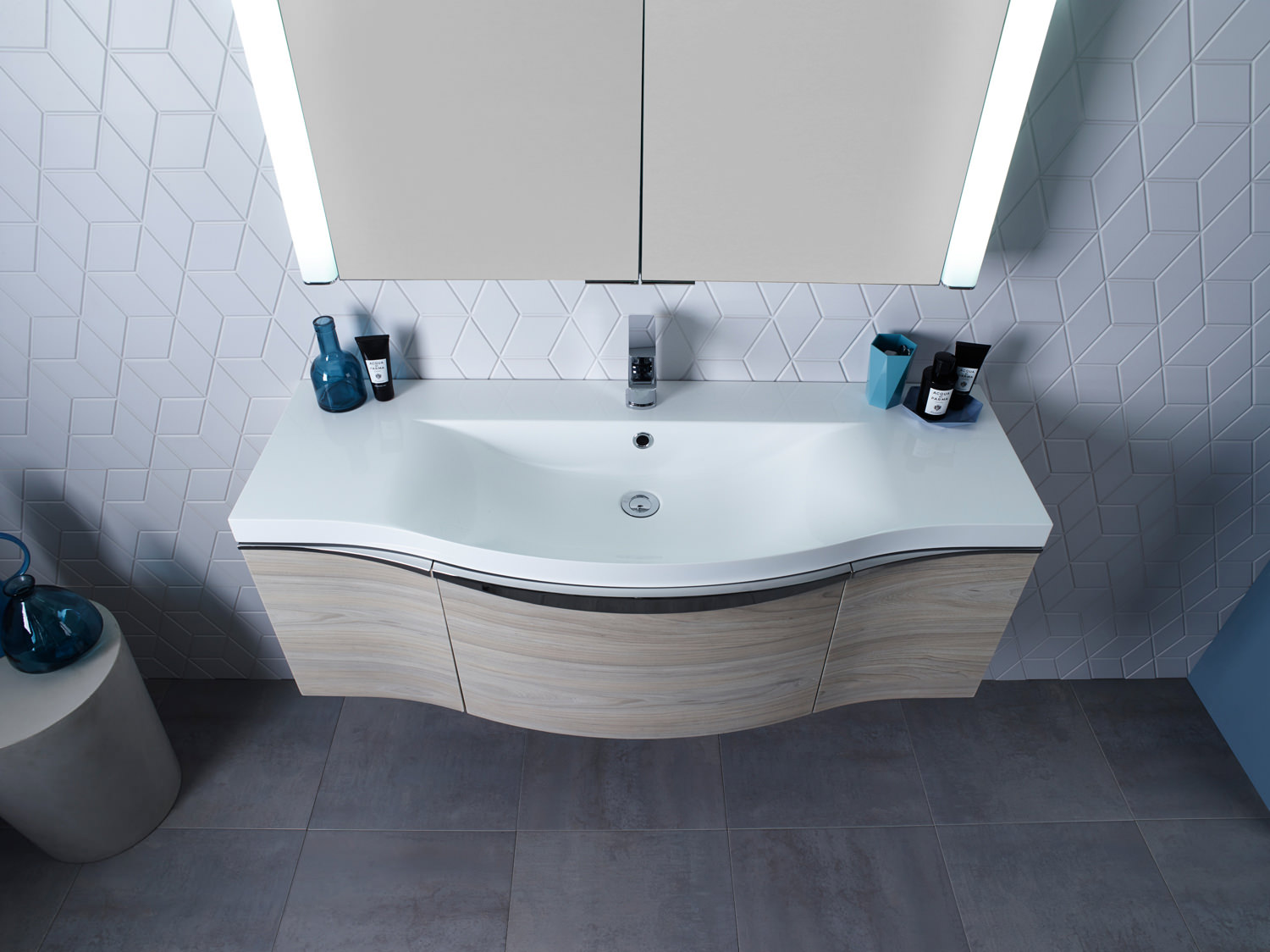 Roper Rhodes Serif 1200mm Wall Mounted Vanity Unit With