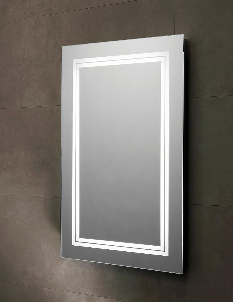 Tavistock transmit 450 x 700mm led backlit illuminated mirror sle510 for Illuminated mirrors for bathrooms