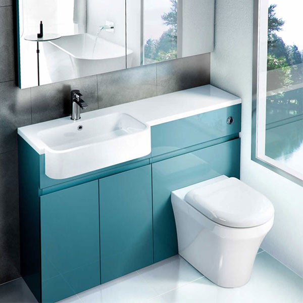 britton aqua cabinets d300 white btw wc unit with push. Black Bedroom Furniture Sets. Home Design Ideas