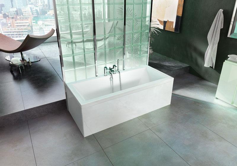 Britton Cleargreen Enviro 1800 X 800mm Double Ended Bath R3