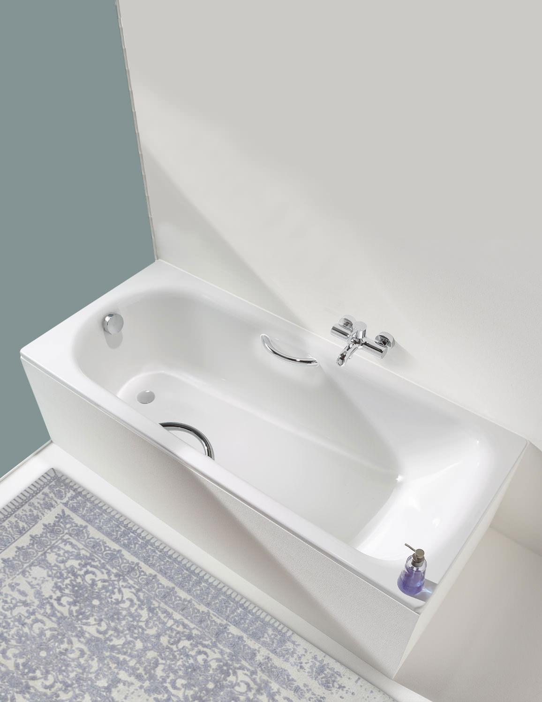 kaldewei saniform plus 361 1 steel bath 1500 x 700mm 111600010001. Black Bedroom Furniture Sets. Home Design Ideas