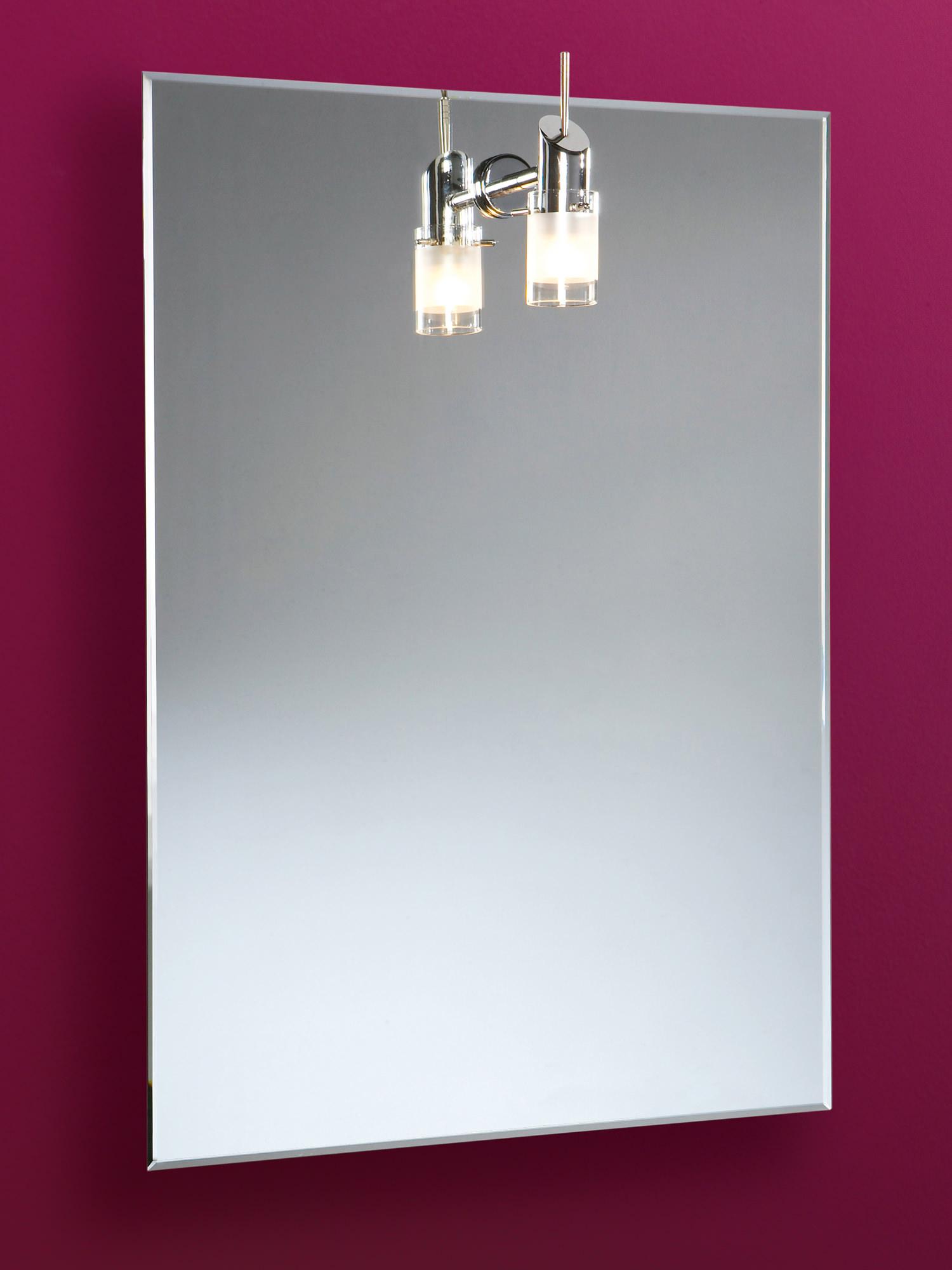 Bathroom Mirrors Illuminated: HIB Leila Illuminated Mirror With Halogen Light 500 X