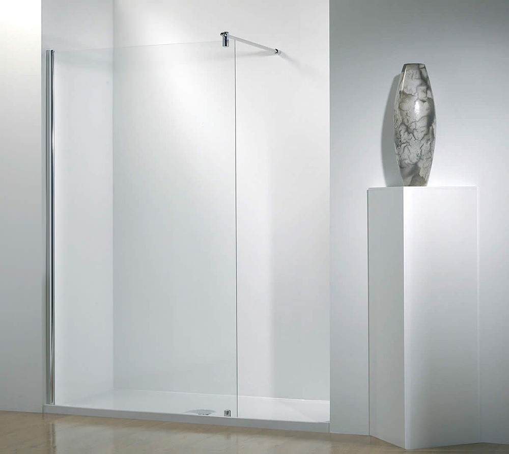 Kudos Ultimate 1500mm RH Walk-In-Recessed Shower Enclosure